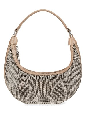 STAUD Sasha Chainmail Mini Top Handle Crossbody Bag