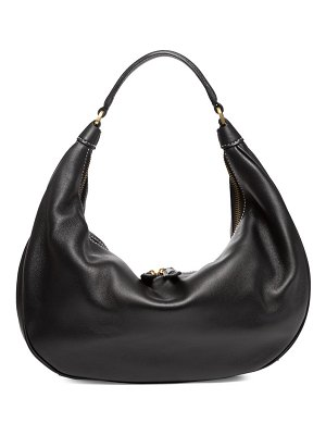 STAUD sasha leather shoulder bag