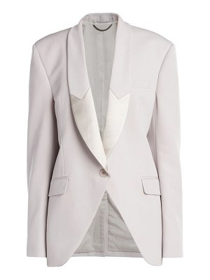 Stella McCartney aya wool twill tailored jacket