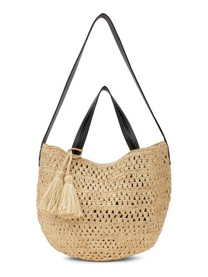 Stella McCartney beige crochet bucket bag