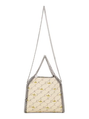 Stella McCartney beige the beatles edition submarine mini falabella tote