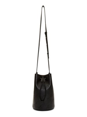 Stella McCartney black mini bucket bag