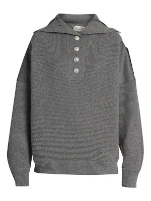 Stella McCartney button-front wool sweater