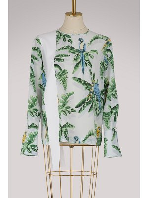 Stella McCartney Clare silk top