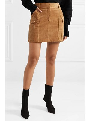 Stella McCartney cotton-corduroy mini skirt