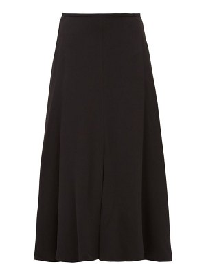 Stella McCartney crepe midi skirt