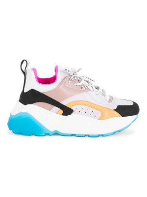 Stella McCartney eclypse chunky colorblock lace-up sneakers