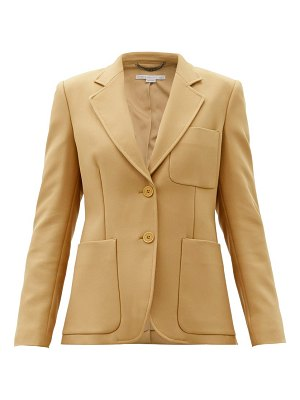 Stella McCartney eleanor single-breasted twill jacket