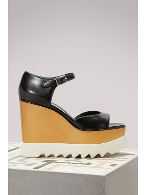 Stella McCartney Elyse Wedge Sandals