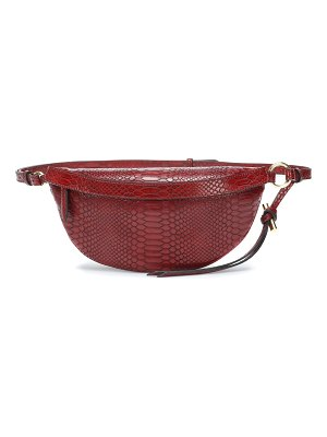Stella McCartney Embossed faux leather belt bag