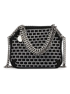 Stella McCartney mini falabella crystal-embellished tote