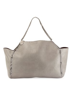 Stella McCartney Falabella Medium Shaggy Deer Reversible Tote Bag
