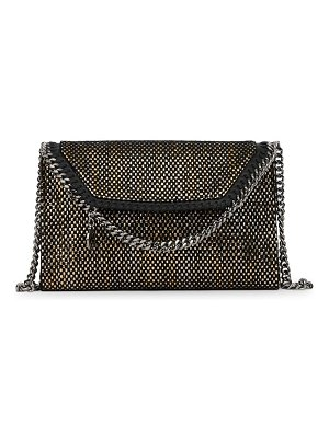 Stella McCartney falabella mini woven crossbody bag