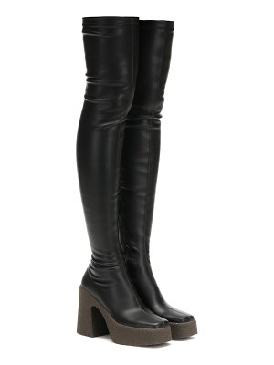 Stella McCartney faux leather over-the-knee boots