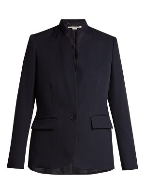 Stella McCartney fleur single breasted wool blazer