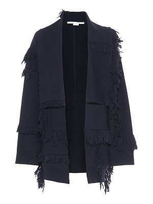 Stella McCartney fringe-trimmed wool cardigan
