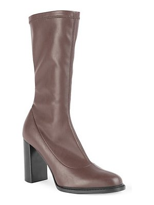 Stella McCartney high-heel faux leather boots