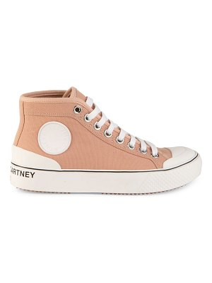 Stella McCartney high-top canvas sneakers