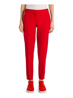 Stella McCartney japanese tailoring zip ankle trousers