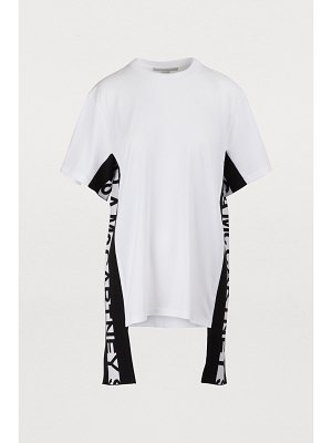 Stella Mc Cartney Logo stripe T-shirt