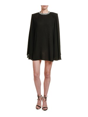Stella McCartney Long-Sleeve Trapeze Cocktail Dress