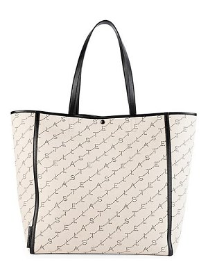 Stella McCartney medium monogram canvas tote