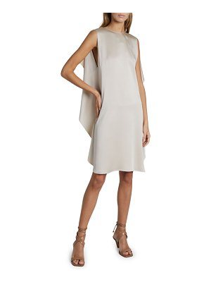 Stella McCartney Mia Cape Satin Dress