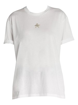 Stella McCartney mini crystal star cotton tee