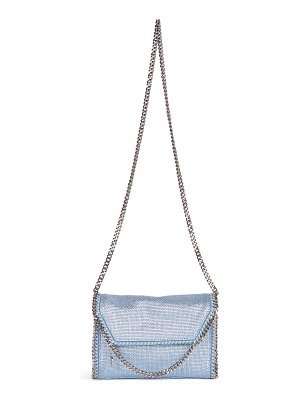 Stella McCartney mini eco metallic crossbody bag