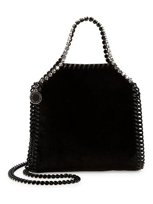 Stella McCartney mini falabella metallic faux leather shoulder bag