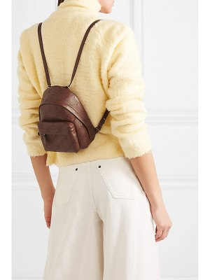 Stella McCartney mini perforated faux leather backpack