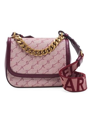 Stella McCartney monogram canvas shoulder bag