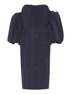 Stella McCartney Off-the-shoulder taffeta dress