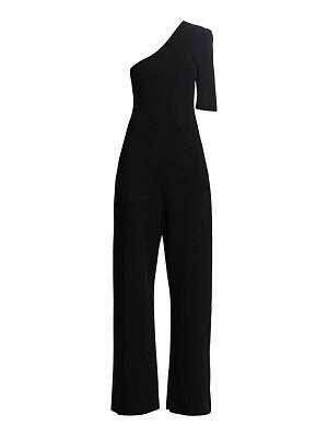 Stella McCartney one-shoulder crepe jumpsuit