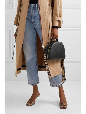 Stella McCartney perforated faux leather shoulder bag