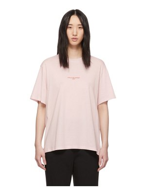 Stella McCartney pink logo t-shirt