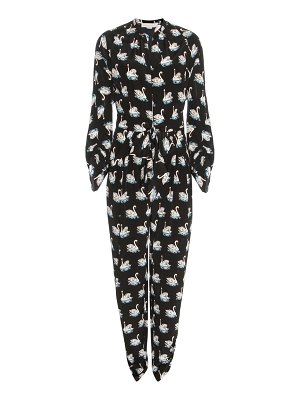 Stella McCartney Printed silk jumpsuit