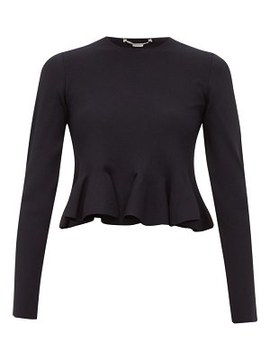 Stella McCartney punto di milano peplum top