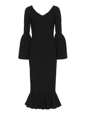 Stella McCartney ribbed-knit midi dress