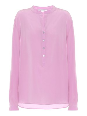 Stella McCartney silk-crêpe blouse