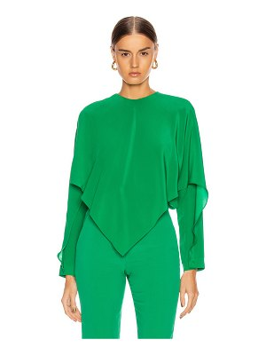 Stella McCartney silk crepe top