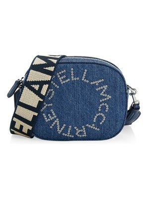 Stella McCartney stella logo denim belt bag
