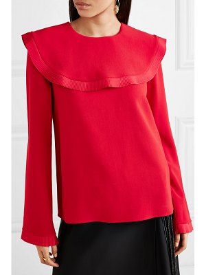 Stella McCartney tiered cady top