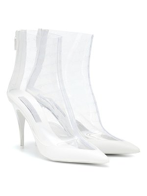 Stella McCartney transparent ankle boots