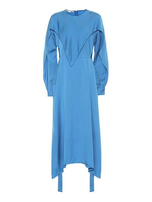 Stella McCartney twill midi dress