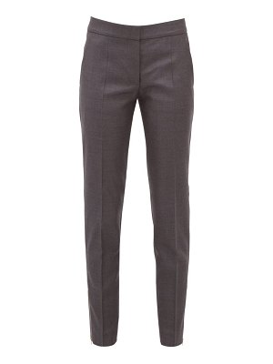 Stella McCartney vivian zip cuff wool trousers