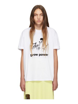 Stella McCartney white grow power t-shirt
