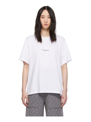 Stella McCartney white logo t-shirt