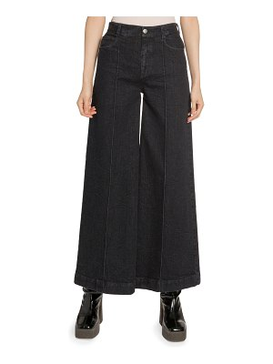 Stella McCartney Wide-Leg High-Rise Jeans