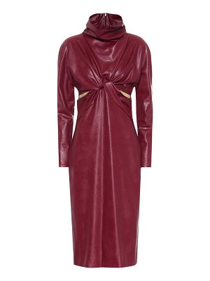 Stella McCartney Willow faux leather dress
